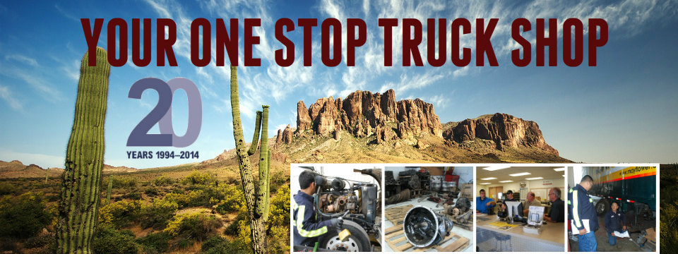Superstition Trailer's one stop truck stop