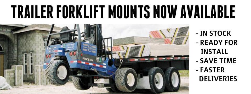 TRAILER FORKLIFT MOUNT -
