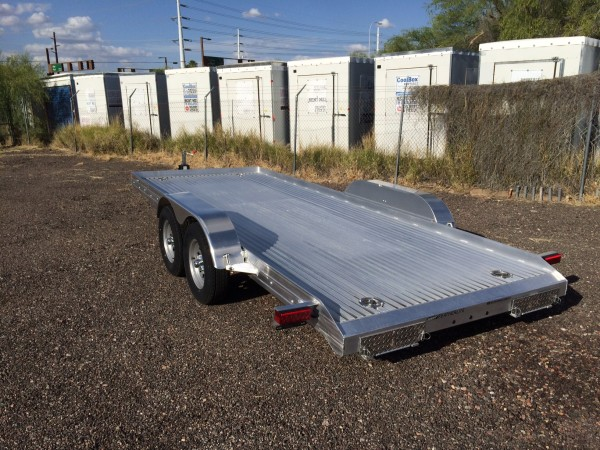 Featherlite Aluminum Car Hauler Utility Trailer In Phoenix