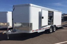 Featherlite enclosed car hauler